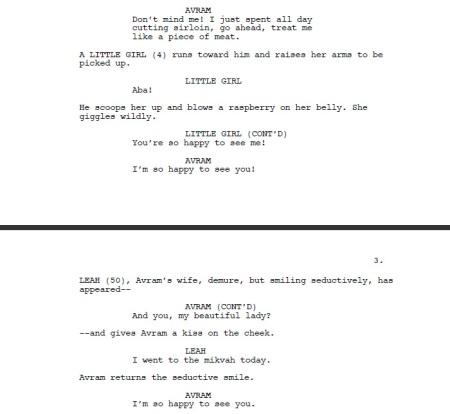 Postville Script pages - after