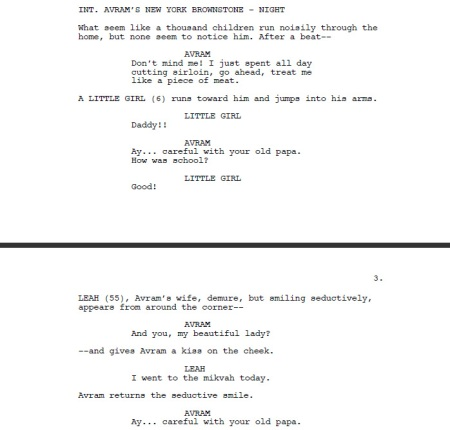 Postville screenplay - before