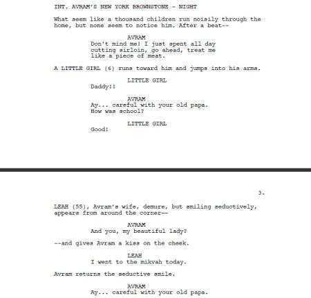 Postville screenplay - before